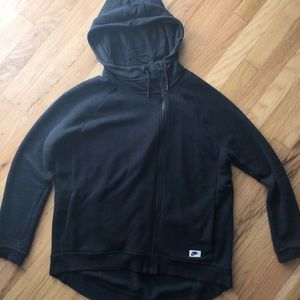 Nike zip-up sweatshirt